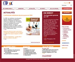 CTIP : audit du site web